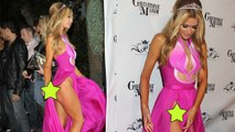 Paris Hilton Show off At Her Birthday Party - Paris Hilton Wardrobe Malfunction