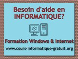 Installer et activer Windows XP - Cours Formation Informatique Windows XP Français - 7.1