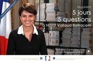 Quelle est la nouvelle feuille de route du Gouvernement pour 2014 en matière d'égalité hommes-femmes? 5J5Q avec Najat Vallaud-Belkacem, ep5