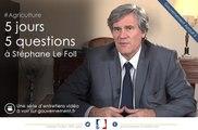 Quel est le sens du pacte d'avenir pour la Bretagne? 5J5Q avec Stéphane Le Foll, ep1