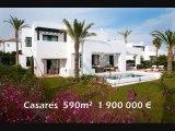 Immobilier villas propriétés à estepona marbella casares costa del sol Espagne