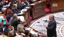 F. Cuvillier répond à la QAG de E. Sas au sujet du financement des transports