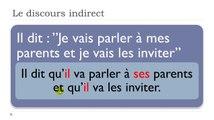 Learn French #Unit 10 #Lesson O = Le discours indirect et les modifications dans la phrase