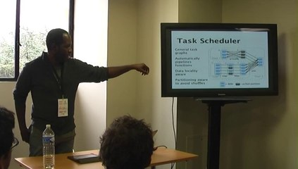 [OSDC.fr 2013] In Memory Big Data Analytics with the Apache Spark Ecosystem