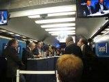 Hénin-Beaumont : vif débat entre candidats aux municipales à bord du train d'Europe 1