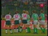 ALEMANIA FEDERAL V/S INGLATERRA (SEMIFINAL - MUNDIAL ITALIA 1990) TELEVISION CHILENA