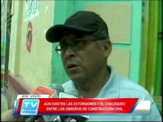 Chiclayo: Extorsiones entre obreros de construccion civil 18 02 14