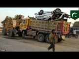 At least 17 children killed as truck collided with school bus in southern Pakistan