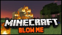 Minecraft Mod Spotlight: BLOW ME MOD 1.6.4 - EXTINGUISH FIRES BY BLOWING INTO YOUR MICROPHONE