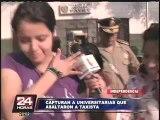 Independencia: Capturan a dos jovencitas lesbianas que intentaron robar a taxista