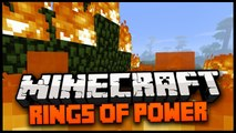 Minecraft Mod Spotlight  RINGS OF POWER MOD 1 7 4 - FLYING RING, TELEPORT RING, FIRE RING ICE RING!