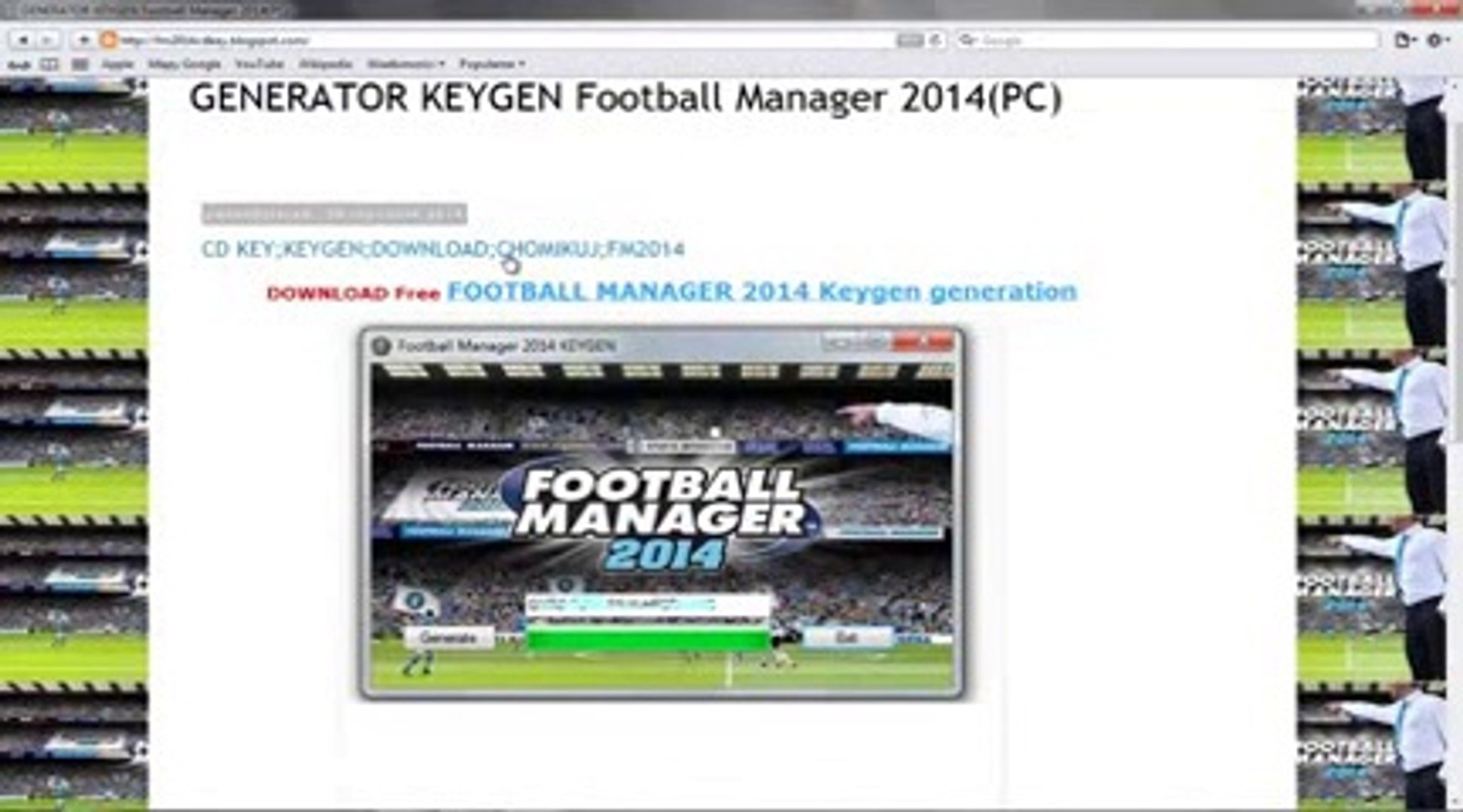 Football Manager 2014 Keygen Download Free Pc Cd Key