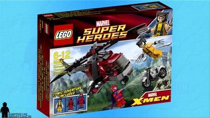 Lego Review - Wolverine's Chopper Showdown