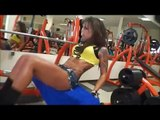 NADIA PETROVA TRAINING - BULGARIAN FITNESS MODEL - Female Bodybuilding/Muscle/Fitness
