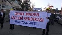 Taşeron İşçi Son Dakika Haberleri! Zonguldak 'Ta Maden İşçisinden Taşeron Eylemi (19.02.2014)