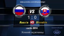 Олимпийские игры Сочи 2014. Хоккей мужчины Россия - Словакия