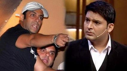 Kapil Sharma Angers Salman Khan