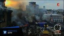 Ukraine : violence et chaos dans le centre de Kiev