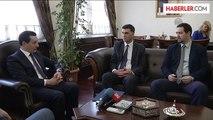 İşler, Bosna Hersek'in Ankara Büyükelçisi'ni kabul etti -