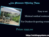 Misting Tents -Stay Cool Outdoors on Sunny Days