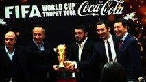 Coppa del Mondo di calcio arriva Roma, tour anche in periferia
