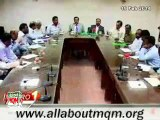 MQM representatives hold meeting regarding water supply & leakage issues in New Karachi