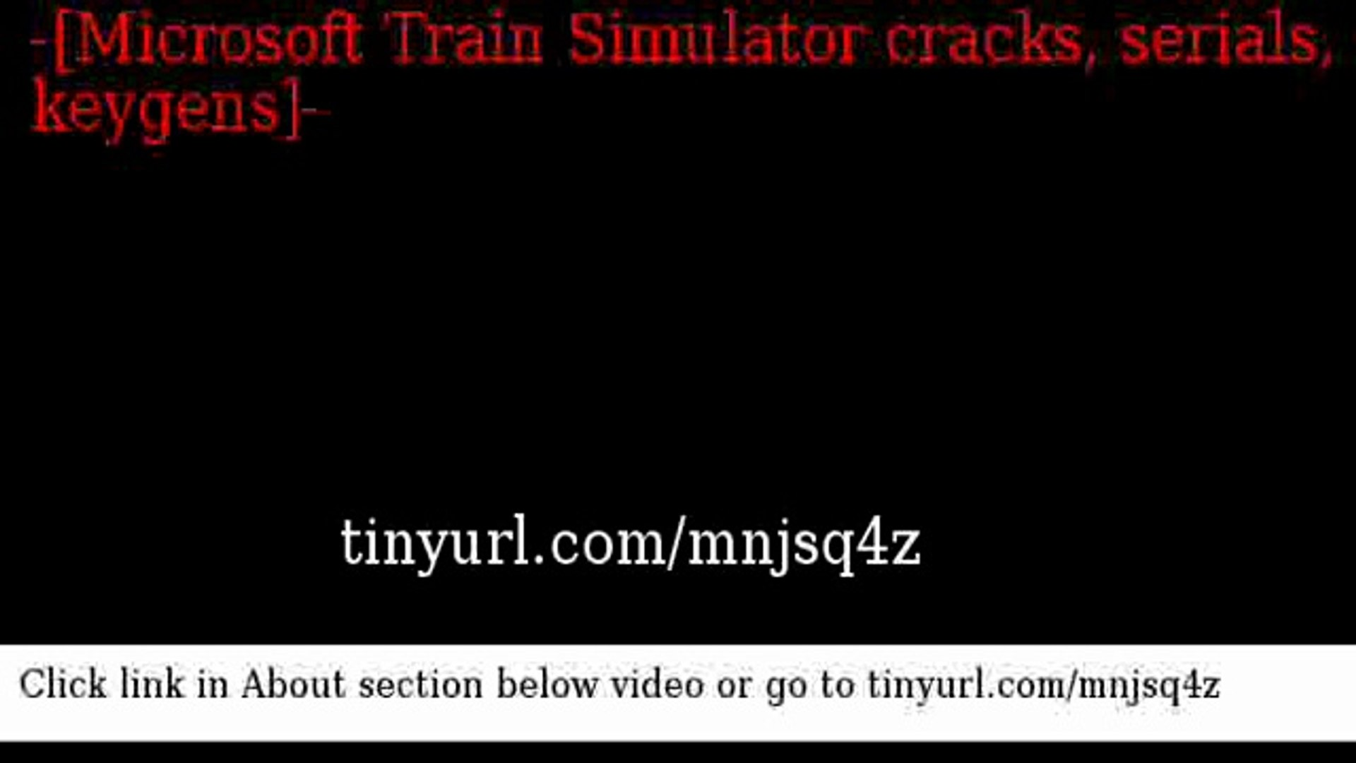 Microsoft Train Simulator crack serial keygen