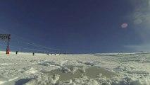 les poulettes de lolo et jeje aux 2 alpes janvier 2014