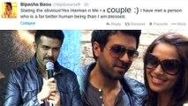 Harman Baweja Reacts To Bipasha Basu Tweet