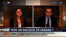 Le Soir BFM: Violences à Kiev, l'UE menace de sanctionner l'Ukraine -19/02 4/6