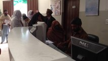 Glimpse of Nursing Counter at UM Trust- Patient records in Electronic Medical Records System