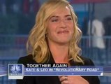 LEONARDO DICAPRIO AND KATE WINSLET - ON THE TODAY SHOW - Entertainment/Hollywood/Celebrity