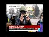 VIOLENCE EN UKRAINE PAS DE TREVE BAINDE SANG A KIEV