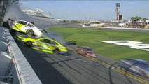NASCAR Sprint Cup Daytona 500 2014 Practice Massive crash Kligerman