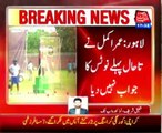 Lahore Cricketer Umar Akmal second notice was issued by the traffic police