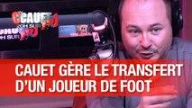 Cauet gère le transfert d'un joueur de foot avec Fabrice Eboué et Thomas N'gijil