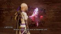 FFXIII Lightning Returns Final Fantasy XIII, gameplay español, parte 23 , numeros del codigo secreto