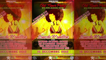 "BROKANTERZ Soirée ""Old Timer Party"" 15 DECEMBRE 2012 Teaser"