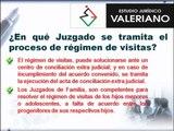 Estudio Juridico Valeriano - Regimen de Visitas - Abogados - Derecho de Familia
