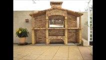 Garden brick grills- Catalogue online of more than 200 babecues Garden brick grills