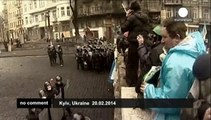 Ukraine: the bloodiest day since protests began in the Ukraine capital three months ago
