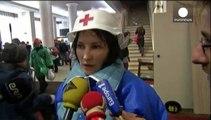 Kyiv medic Olesya survives sniper bullet through neck