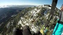 """""""Fly By"""" - Parapente/Paragliding - Puy de Dôme"""