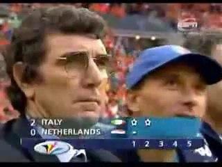 EURO 2000 Semi final: Netherlands 0 Italy 0 [pen 1 - 3]