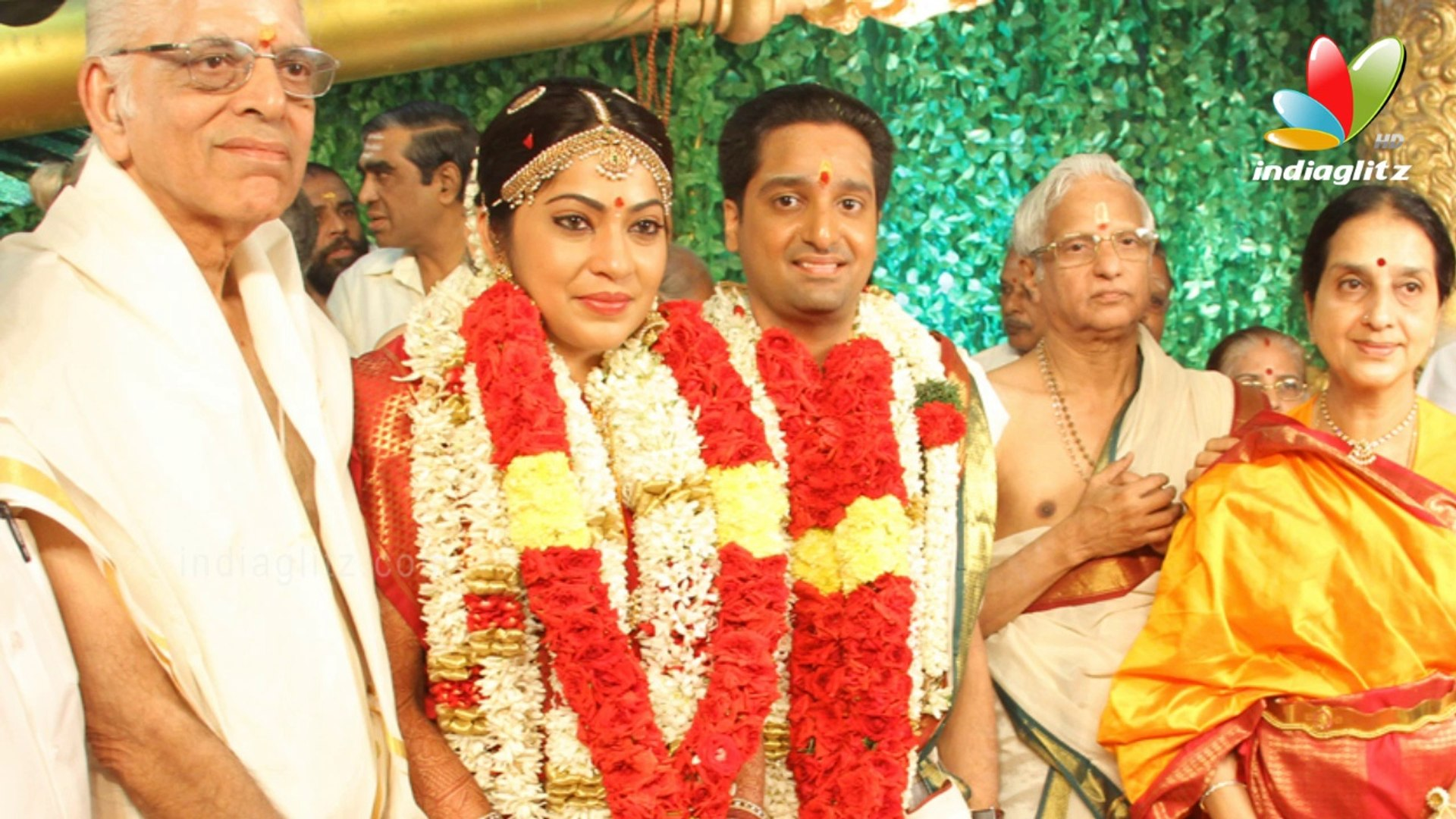 Mani Ratnam, Venkat Prabhu, SivaKumar at Vijay Tv Anchor Ramya Marriage    Wedding Photos - video Dailymotion