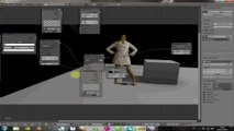 3D  scene compositing