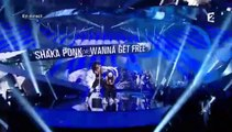 LES SHAKA PONK SUR FRANCE 2 ROCK FRANCAIS