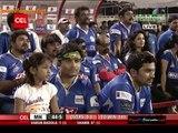 Karnataka Bulldozers VS Mumbai Heroes 2nd Inning Mumbai Heroes Over 06-10