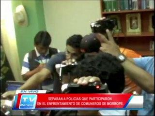 Chiclayo: Separan a policias que participaron en enfrentamiento en Morrope 21 02 14