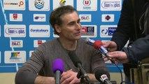 Conférence de presse Tours FC - Dijon FCO (1-0) : Olivier PANTALONI (TOURS) - Olivier DALL'OGLIO (DFCO) - 2013/2014
